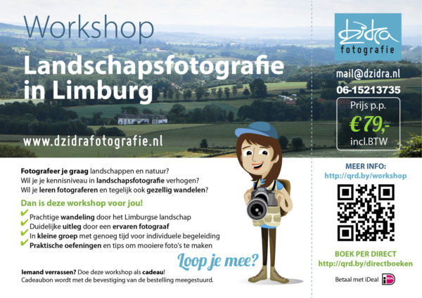Workshop landschapsfotografie in Limburg door fotograaf Maastricht Dzidra Dubois