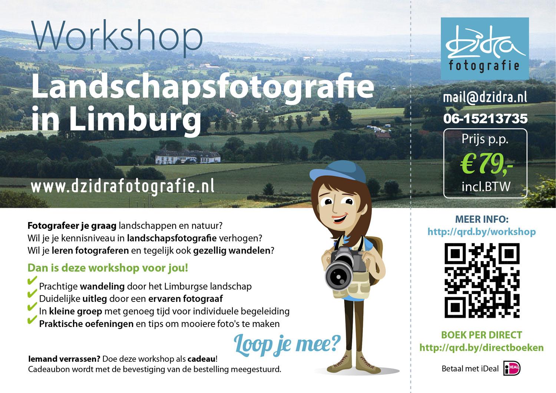 Workshop landschapsfotografie in Limburg door fotograaf Maastricht Dzidra Dubois