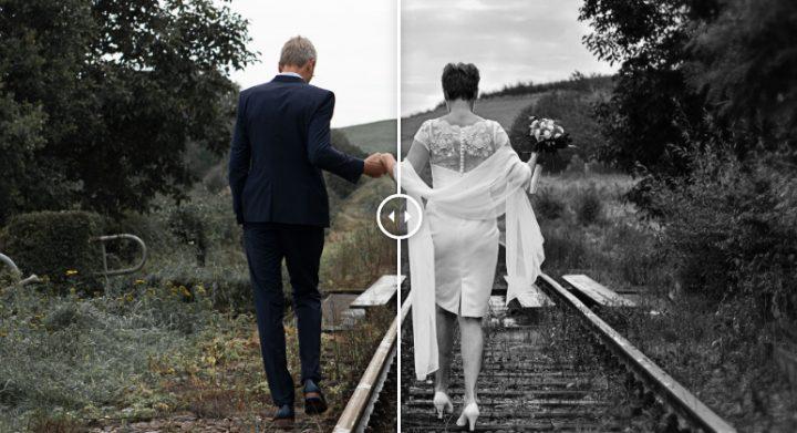 Foto apstrāde, pirms un pēc